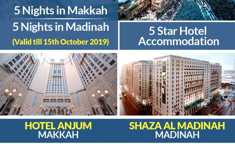 11 Days Umrah Package 2019