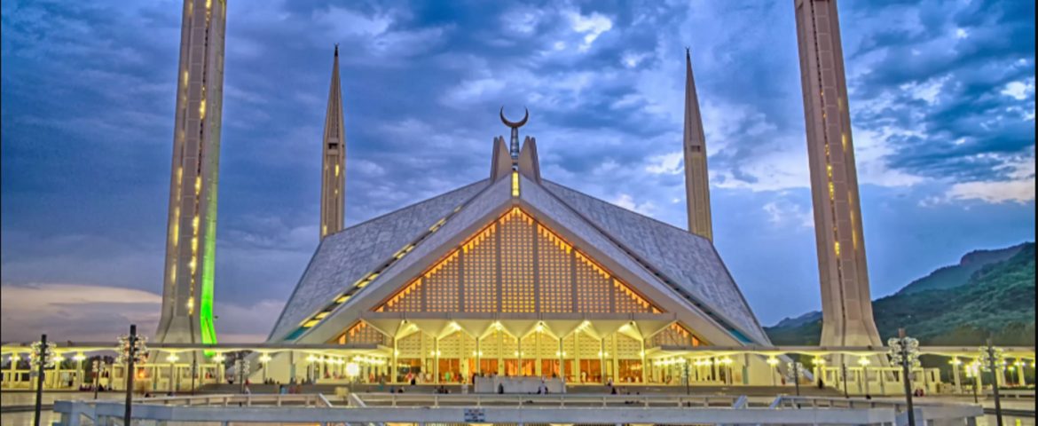 Travel Beautiful Pakistan - Faisal Masjid